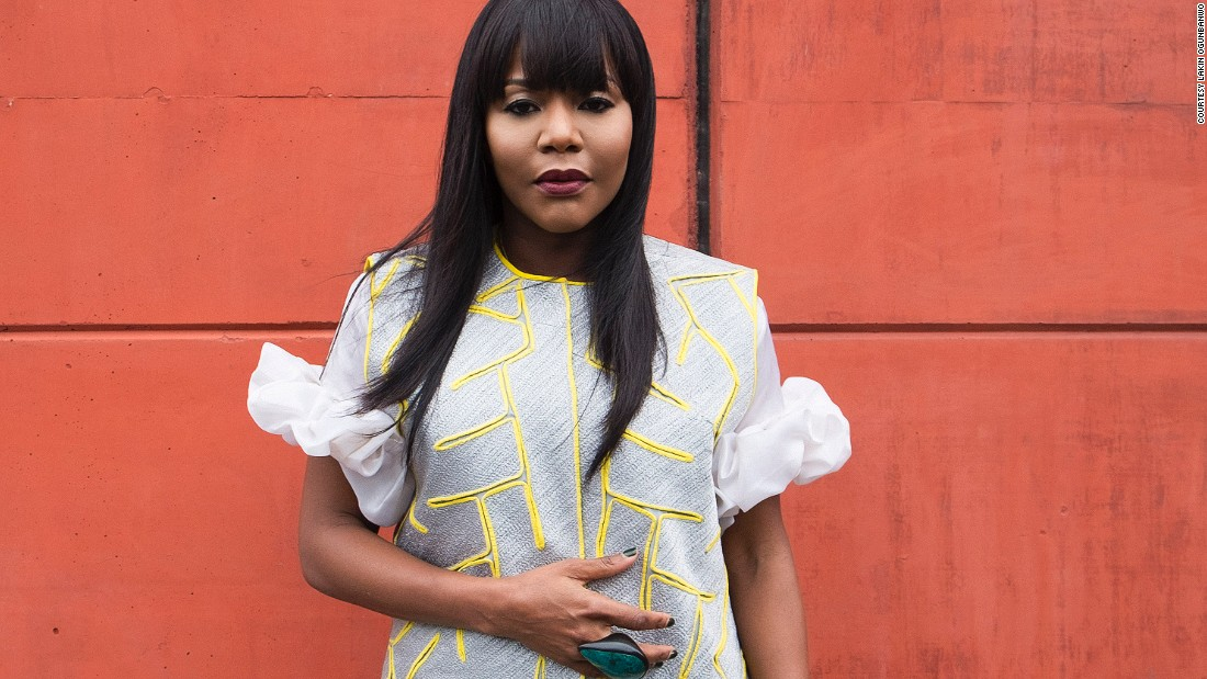 """Reni Folawiyo, owner of Lagos' first luxury concept store Alára. She is also a furniture designer. """"We love color, print and beading"""" she told Fashion Cities Africa."""
