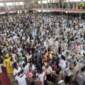 ghana president worshippers