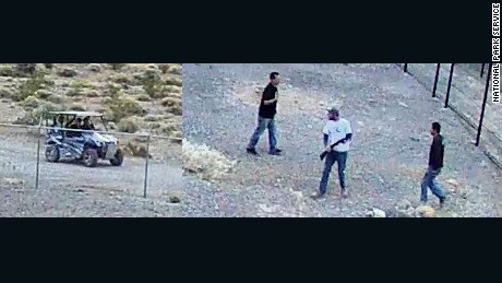 National Park Service released this image of the suspects involved in the April 30th incident.