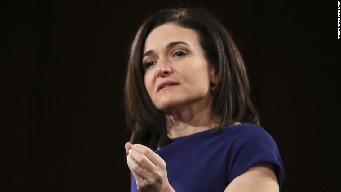"Addressing Berkeley graduates on Saturday, Facebook executive Sheryl Sandberg spoke publicly <a href=""http://money.cnn.com/2016/05/14/technology/sheryl-sandberg-berkeley-commencement-facebook/"">for the first time</a> about her husband's death. She said it changed her in ""very profound ways"" but that she learned she could ""choose joy and meaning"" even after loss. Sandberg's husband, Dave Goldberg, died in May 2015 of a cardiac arrhythmia while the two were on vacation in Mexico."