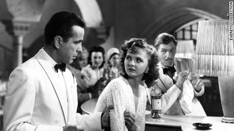 CASABLANCA, Humphrey Bogart, Madeleine Lebeau, Leonid Kinskey, 1942