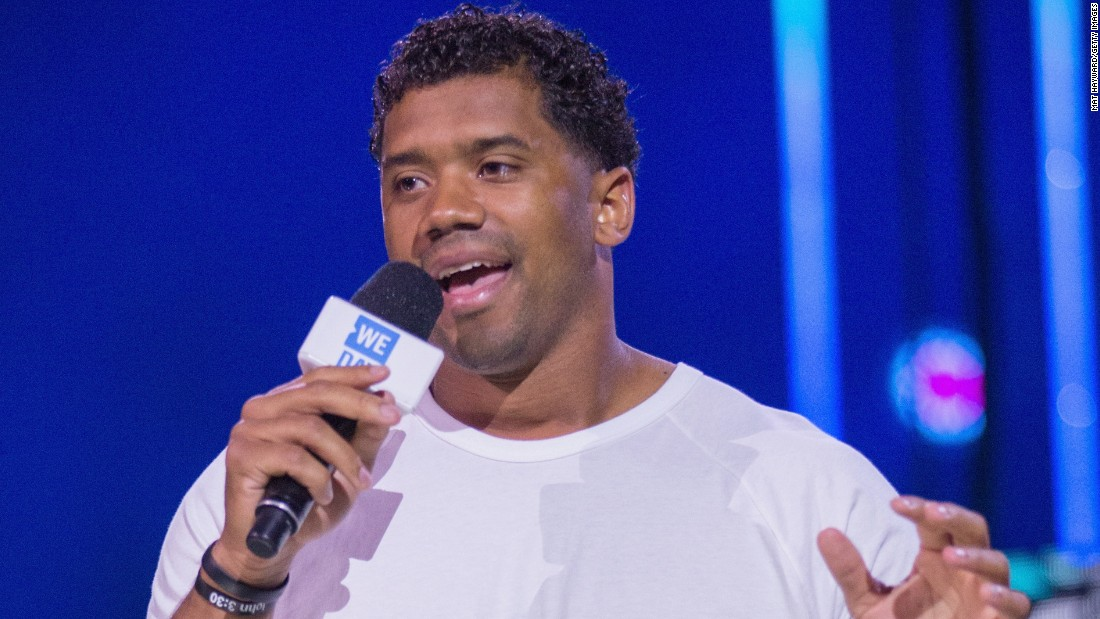 "Seattle Seahawks quarterback Russell Wilson addressed graduates at his <a href=""http://news.wisc.edu/russell-wilson-2016-commencement-speech-when-life-tells-you-no/"" target=""_blank"">alma mater</a>, the University of Wisconsin-Madison, on May 14. ""When life tells you no, ask yourself honestly, 'What am I capable of?' And once you know the answer, don't be afraid to let everyone else know it too,"" <a href=""http://news.wisc.edu/russell-wilson-2016-commencement-speech-when-life-tells-you-no/#sthash.hBwBOtdI.dpuf"" target=""_blank"">he told the crowd</a>."