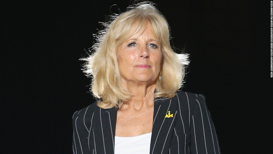 "Second Lady Dr. Jill Biden delivered the commencement address at Northern Virginia Community College, where she is a professor. ""This I believe: a community college education can truly change people's lives,"" she <a href=""https://twitter.com/DrBiden/status/731638199857106945"" target=""_blank"">told the audience</a> on May 14. ""Community college graduates — including every single one of you — can change the world."""