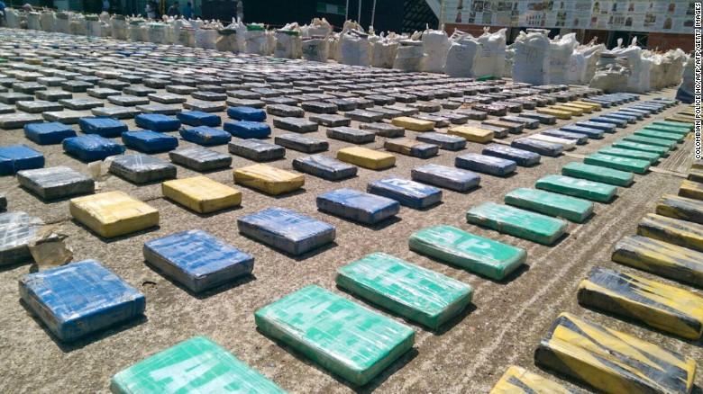 Colombia's largest drug seizure ever