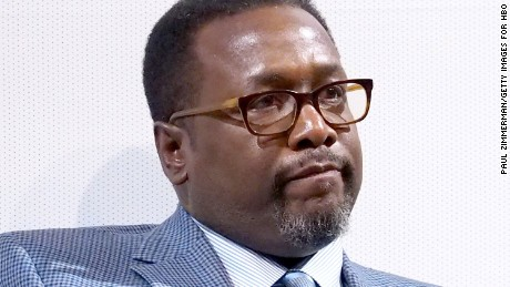 Actor Wendell Pierce was arrested, booked and released on Saturday, police said.