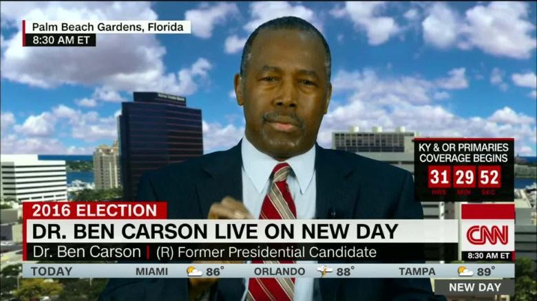 Carson: Some journalists are 'dishonest'