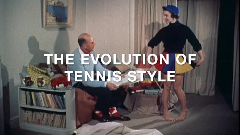Conservative to cool: How tennis style found its form