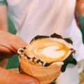 Coffee in a cone 3