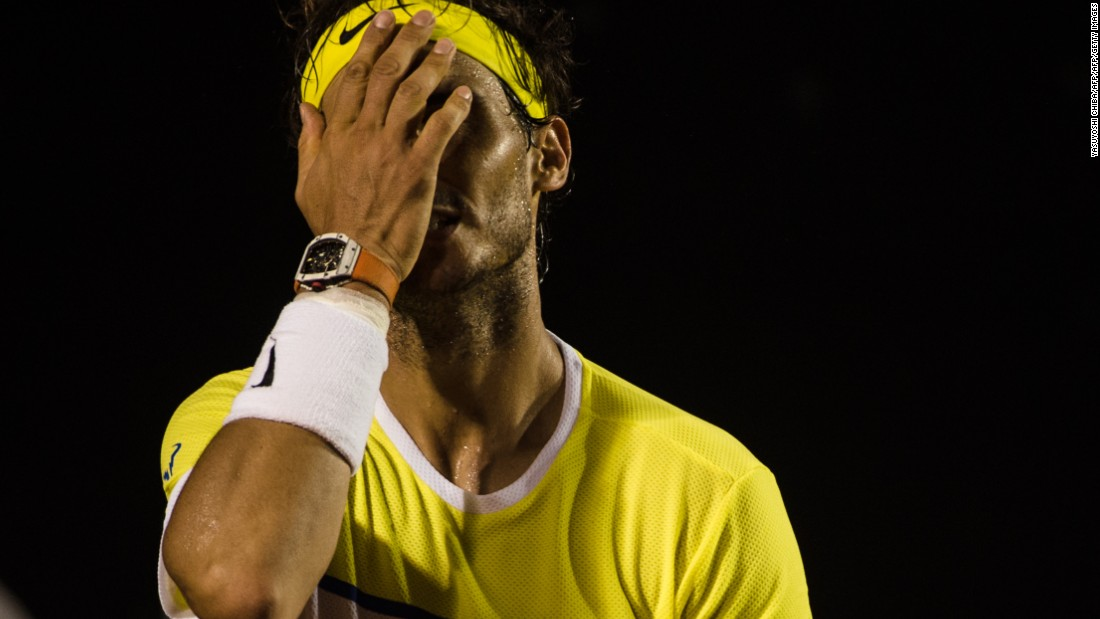 It was part of a slump for Nadal, who will turn 30 during the second week of the French Open. He surprisingly fell to Dominic Thiem and Pablo Cuevas on the South American clay-court swing in February.