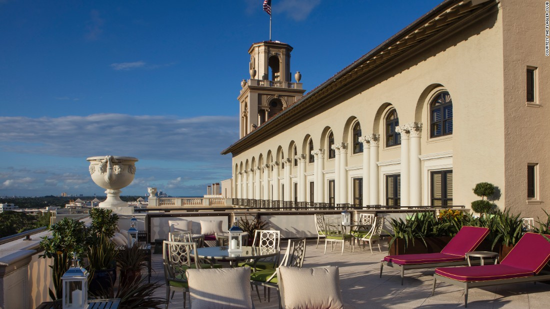 Hotels are starting to tuck a smaller hotel-within-a-hotel into their properties. The Flagler Club is located within The Breakers resort in Palm Beach, Florida.