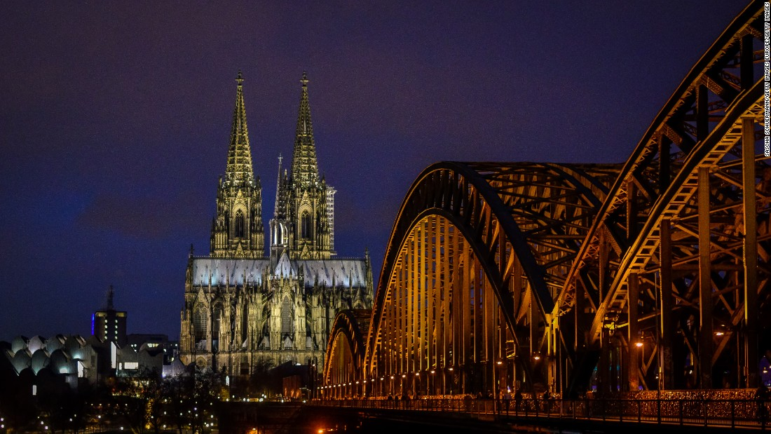 The builders of Cologne Cathedral, among Germany's most-visited landmarks, knew how to take their time. Construction began in 1248, paused in 1473, and finally was  completed in 1880.