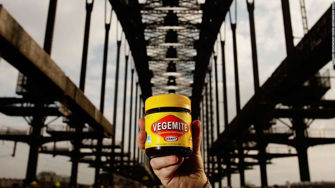 The mighty Vegemite: misunderstood by non-Australians since 1922.