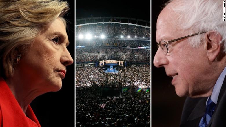Bernie Sanders ramps up feud with establishment