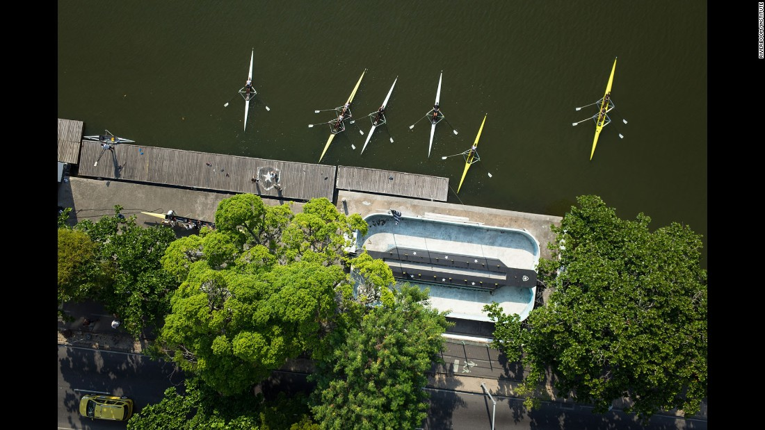 Rio's rowing clubs are based at the Rodrigo de Freitas Lagoon. It will host some Olympic events in August.