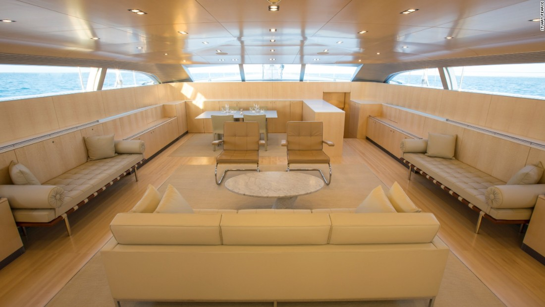 A sumptuous interior allows the yacht -- from Dutch builder Vitters -- to be suitable for racing and cruising, while technological advances such as retractable propulsion pods caught the judges' eyes.