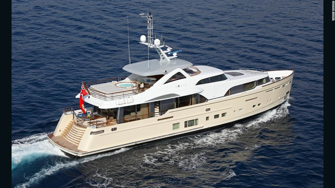 "Judges described the 34m entry from Dutch builder Mulder, which has transatlantic range, as a ""true pocket superyacht."""