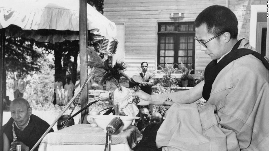The Dalai Lama celebrates Buddha's birthday in Mussoorie.
