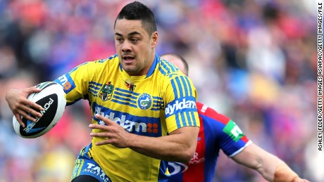 London Sevens: Jarryd Hayne named in Fiji squad for series finale