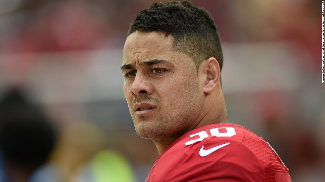 Jarryd Hayne is swapping the NFL for rugby sevens after being contacted by Fiji ahead of the Olympics.