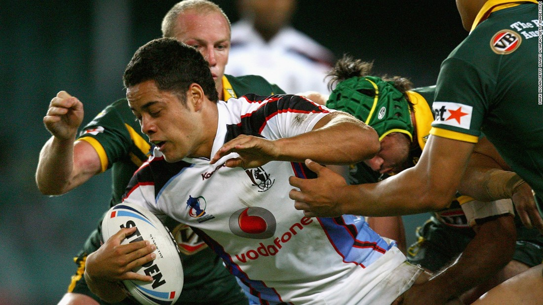 Four years earlier, Hayne was on the losing team as Fiji was beaten by Australia in the World Cup semifinals in Sydney.