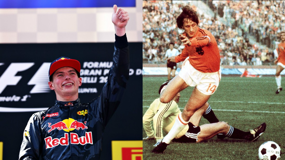 Can Max Verstappen impact Formula One in the same way Dutch great Johan Cruyff changed soccer?