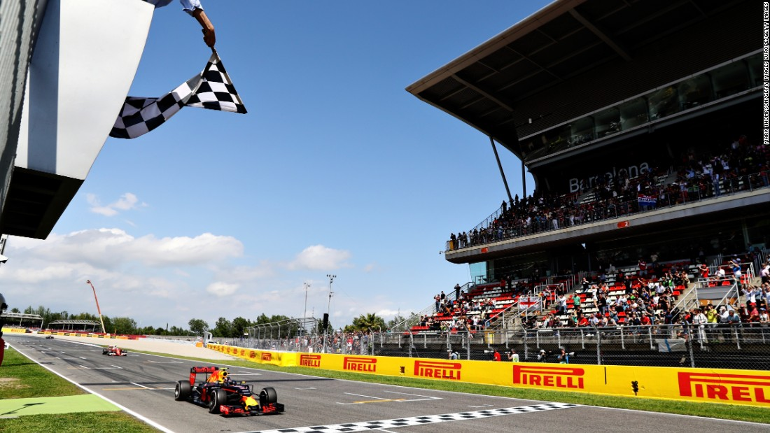 Verstappen achieved star status by winning the Spanish Grand Prix in his very first race for Red Bull.