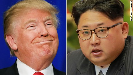 Trump says he would talk to North Korea's Kim Jong Un