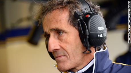 Four-time F1 champion Alain Prost is now focused on winning the Formula E title with Renault.