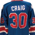 Jim Craig 1980 Team USA jersey from the gold medal game 2