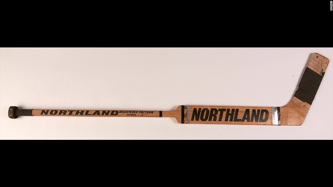 Craig is actually selling two sticks: One he used in the medal rounds and another he had signed by Coach Herb Brooks and many of his teammates.