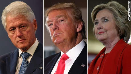 Donald Trump defended 'friend' Bill Clinton