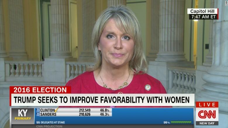 GOP congresswoman says women will support Trump