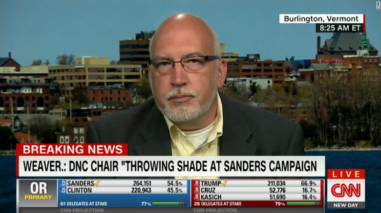 Sanders campaign manager criticizes Dem party chair