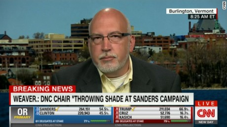 Sanders campaign manager Jeff Weaver on CNN's New Day.