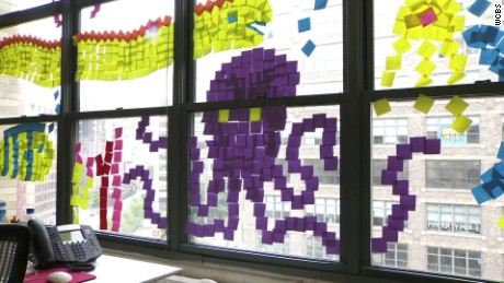 new york post it note war dnt