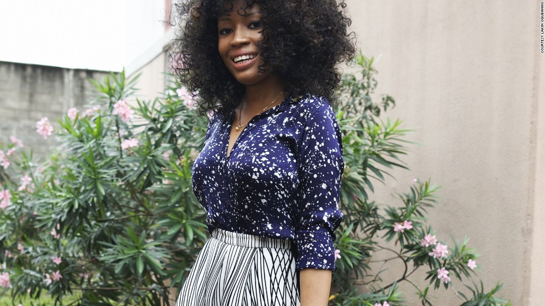 """Amaka Osakwe, designer, Maki Oh. Osakwe's designs have a celebrity following including Michelle Obama, Beyonce, Kerry Washington and Rihanna. """"Lagos inspires my work because I live within a culture that I love"""" she told Fashion Cities Africa."""
