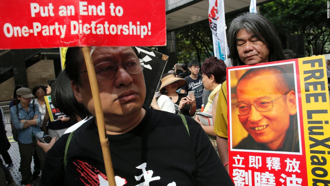 Pro-democracy protests claim China's trying to increase its grip on the city, and fear that Hong Kong's independence from Chinese rule is being eroded.