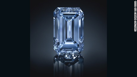 Rare blue diamond sells for record $57.5 million