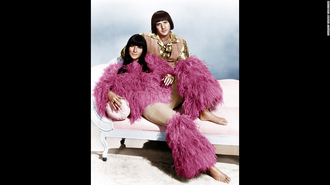 "Cher, who was born Cherilyn Sarkisian in 1946, became a household name in the 1960s. She and her husband, Sonny Bono, had a No. 1 song with ""I Got You, Babe."" The two divorced in 1975 but would still work together on television."