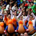 london sevens bird costumes