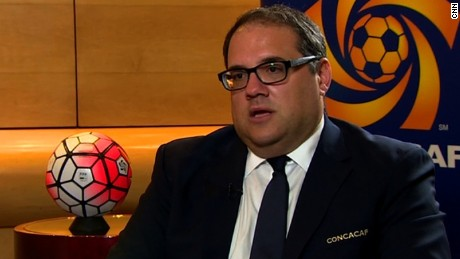 Deportes CNN interview with new CONCACAF president Victor Montagliani.