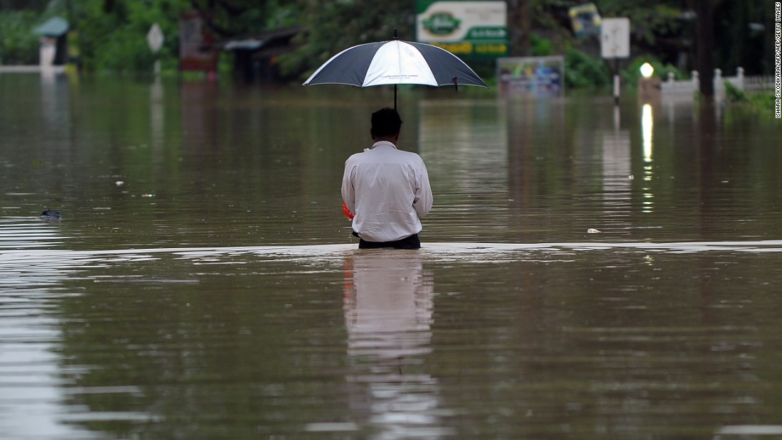 The rains are expected to move towards the southern Indian state of Tamil Nadu.