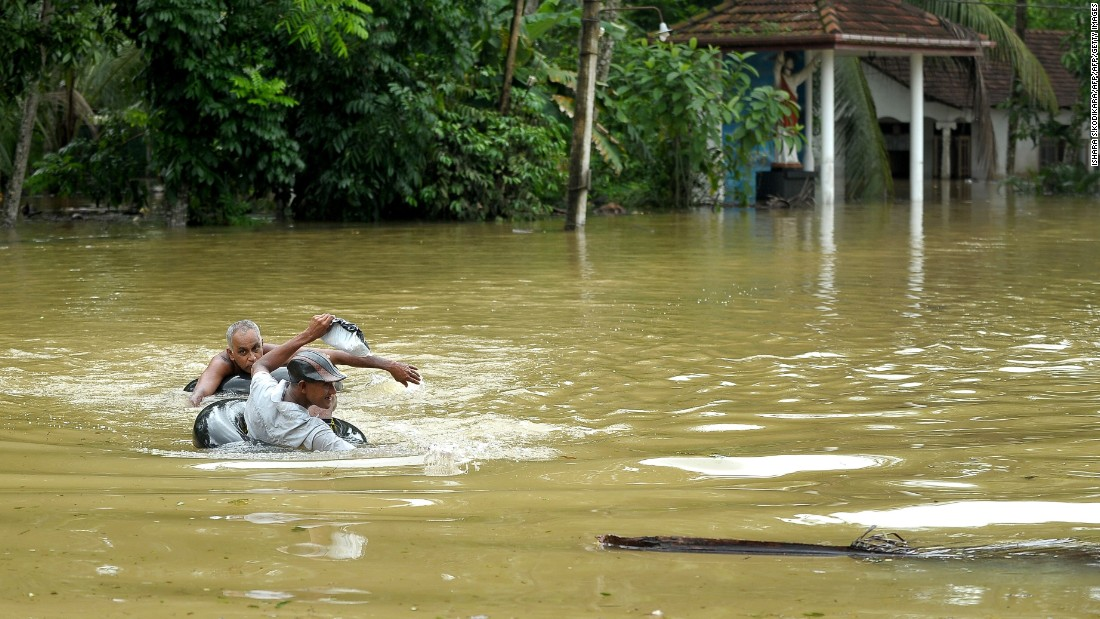 The worst hit was the northern town of Kilinochchi, which recorded a rainfall of 372 mm during the 24 hours ending Tuesday, a quarter of what it usually receives every year.<br /><br />