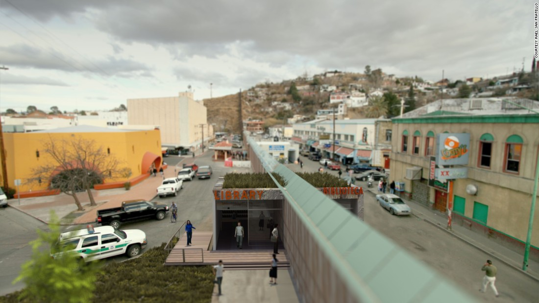 """Architects such as Rael San Fratello have longed surveyed the Mexico-USA 'barrier' as a complex site for the questioning of its utility and economy,"" Sean Anderson writes."