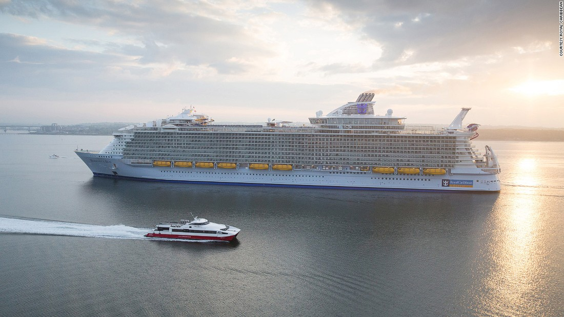 Royal Caribbean's newest ship, Harmony of the Seas, makes its debut this weekend in Southampton, England. It's the world's largest cruise ship.