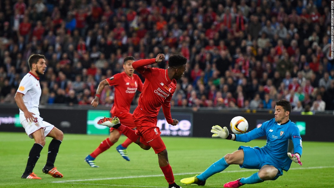 Sturridge and Liverpool had a number of chances in the first half but couldn't extend the advantage before halftime.