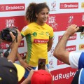 rugby favela bianca posing
