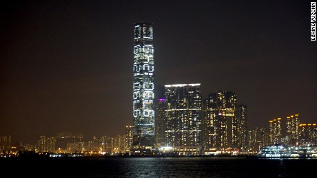 To the average Hong Konger, the blinking digits on the International Commerce Center might seem more like a multi-million figure.