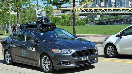 Uber, like other companies, has been experimenting with driverless cars.