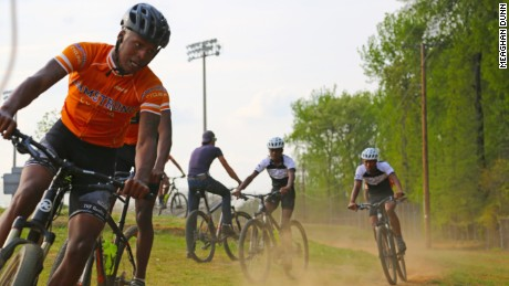 Richmond Cycling Corps has its own practice run inside a local housing project